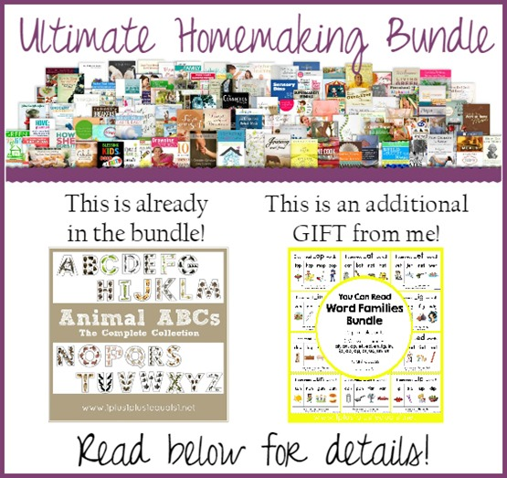 Ultimate Homemaking Bundle Extra Bonus from 1 1 1=1