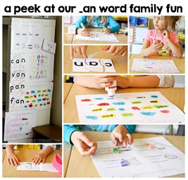 an word family fun