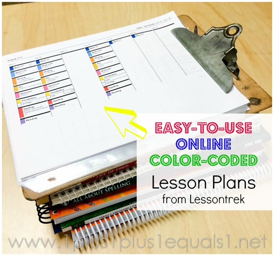Homeschool Lesson Planning with Lessontrek