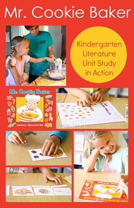 Mr. Cookie Baker Kindergarten Literature Unit in Action