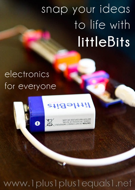 littleBits Review and Giveaway