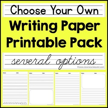 Choose your Own Writing Paper[4]