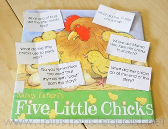 Five Little Chicks -8005