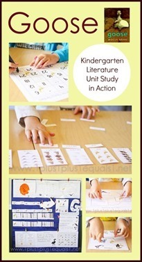 Goose-Kindergarten-Literature-Unit