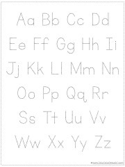 Choose Your Own Alphabet Chart Printable 1 1 1 1