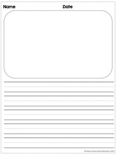 Writing Paper Template | Choose Your Own Writing Paper Printable Pack 1 1 1 1