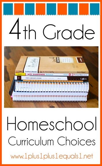 4th Grade Homeschool Curriculum Choices