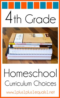 4th Grade Homeschool Curriculum Choices