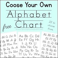 Choose Your Own Alphabet Chart[4]