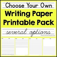Choose your Own Writing Paper[4][3]