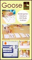 Goose Kindergarten Literature Unit in Action