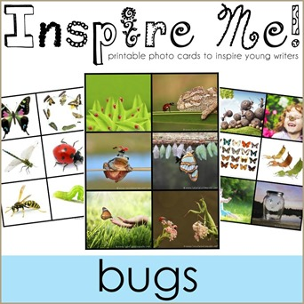 Inspire Me Story Starters BUGS