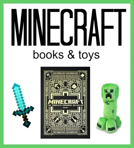 Minecraft Books and Toys