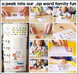 Word Family Fun op