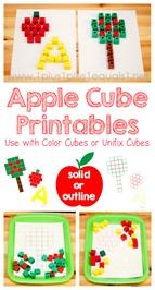 Apple Cube Printables