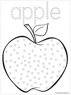 Apple Qtip Painting (5)