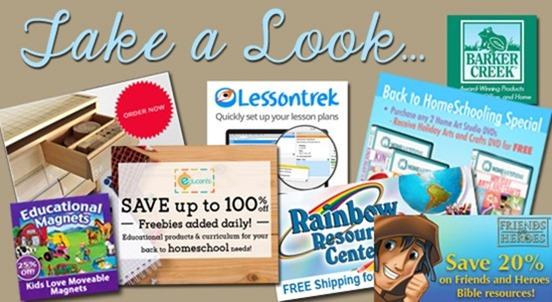 Homeschool Blog Sponsors August 2015
