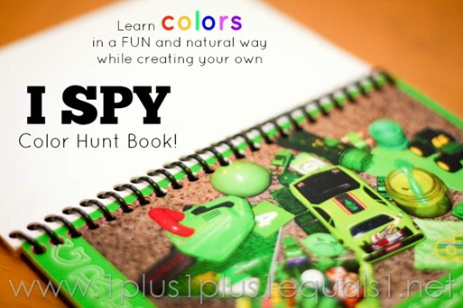 I Spy Color Hunt Book