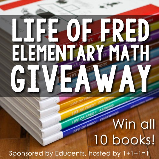 Life of Fred Giveaway 3