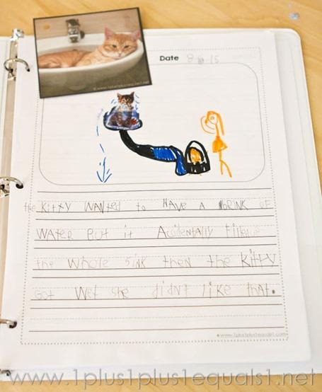 Story Starters Cat Theme