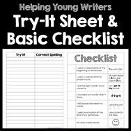 Try It Sheet