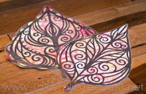 Fall Leaf Art -9815