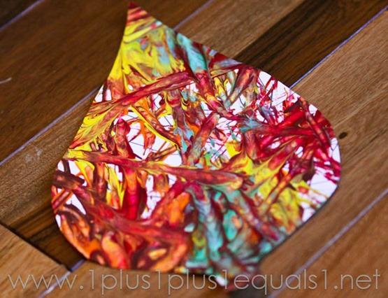 Fall Leaf Art -9819