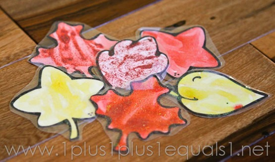 Fall Leaf Art -9829
