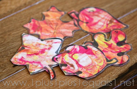Fall Leaf Art -9843