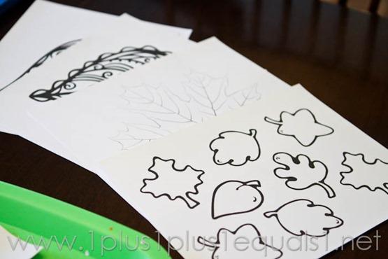 Fall Leaf Art Projects -9562