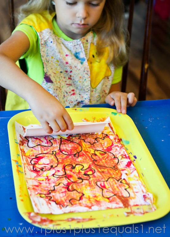 Fall Leaf Art Projects -9584