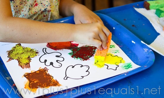 Fall Leaf Art Projects -9612