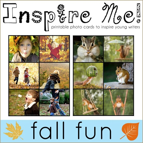 Inspire Me Story Starters Fall Fun