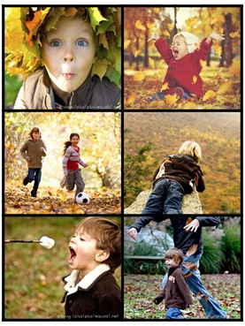 Fall Fun Story Starter Printable Photo Cards