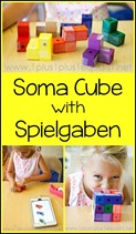Soma Cube with Spielgaben