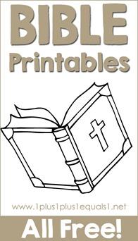 Bible Printables
