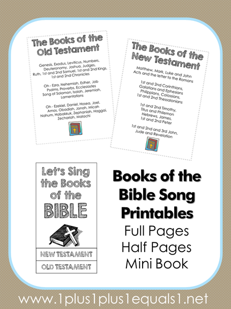 Books of the Bible Songs