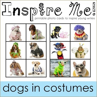 Inspire Me Story Starters Dogs in Costumes
