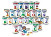 Alphabet Soup Cans