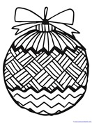 Christmas Ornament Coloring (1)