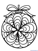 Christmas Ornament Coloring (16)