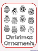 Christmas Ornament Coloring (2)
