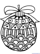 Christmas Ornament Coloring (4)