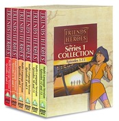 Friends and Heroes DVDs