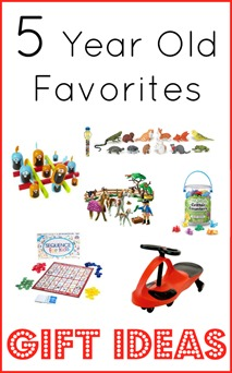 Gift Ideas for 5 Year Olds