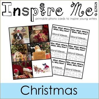 Inspire Me Story Starters Christmas