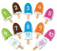 LR Number Popsicles
