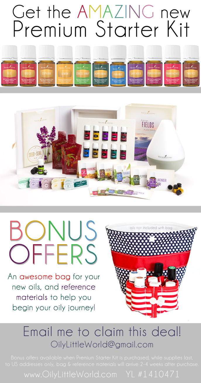 Promotional Offer Young Living Essential Oils