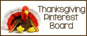 Thanksgiving Theme Pinterest Board