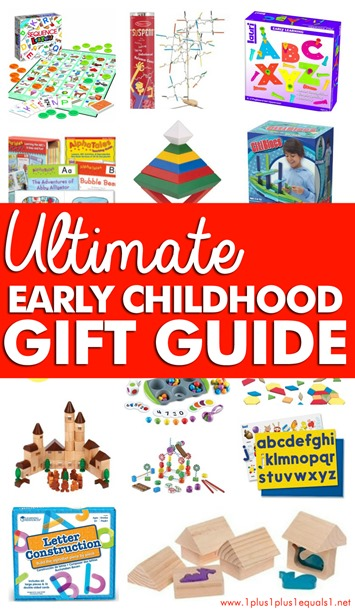 A Homeschooler's Early Childhood Gift Guide